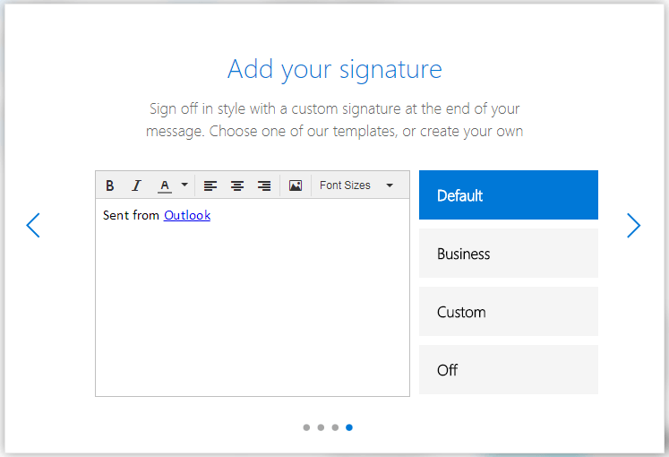 Hotmail live sign up signature selection 16